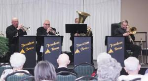 Freedom Brass In concert