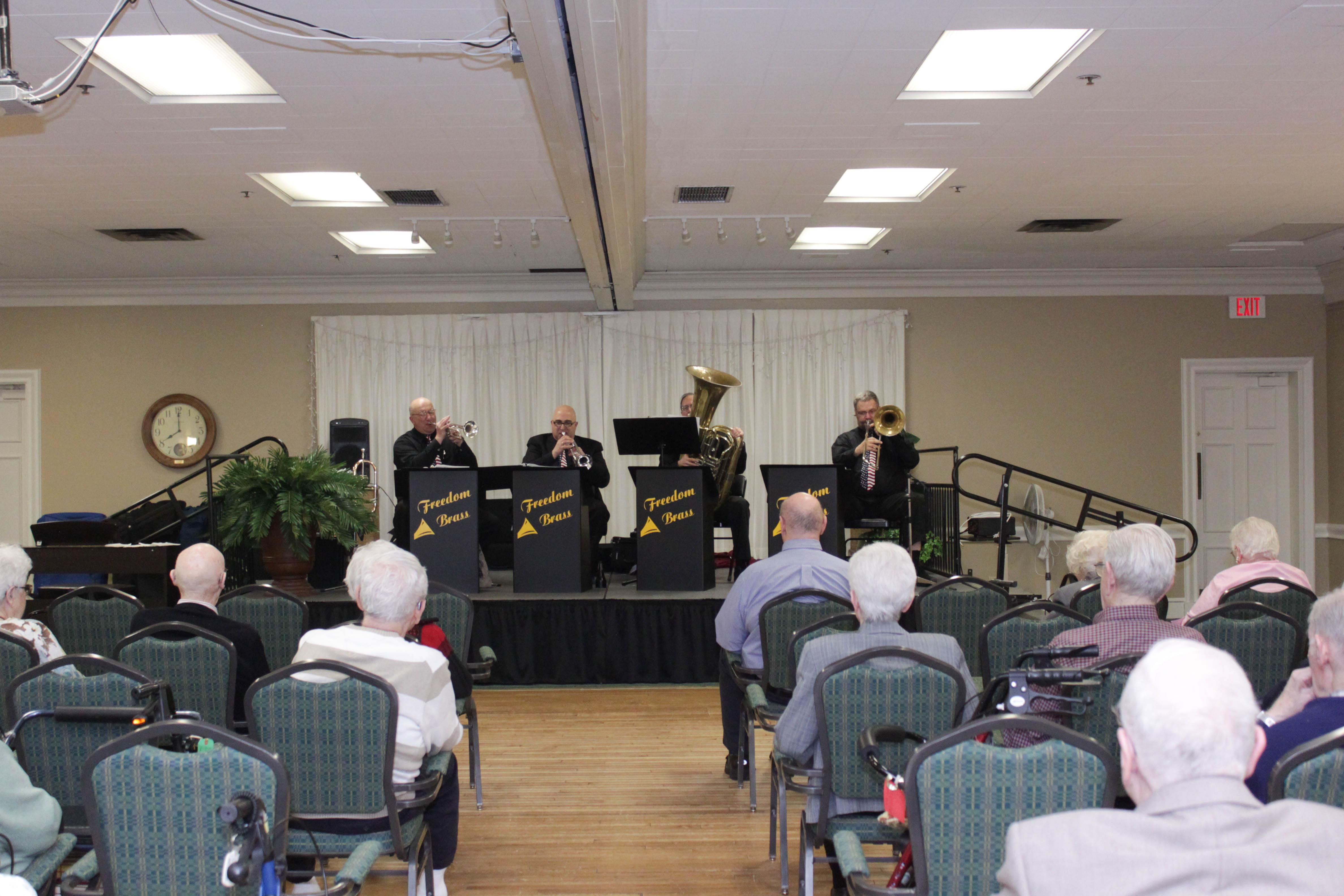 Freedom Brass In concert