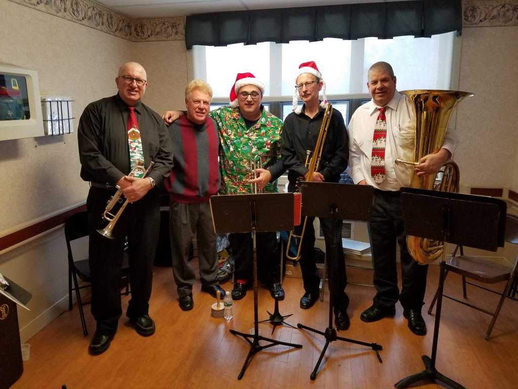 Freedom Brass at Burlington Woods Nursing Home - December 9, 2017