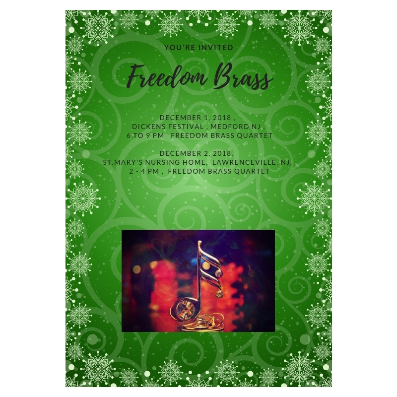 Freedom Brass Holiday